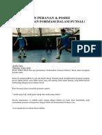 Formasi Futsal