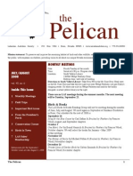 July-August 2008 Pelican Newsletter Lahontan Audubon Society