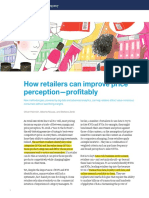 How Retailers Can Improve Price Perception Profitably
