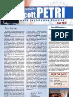 Petri Fall 2010 Newsletter