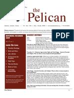 November-December 2009 Pelican Newsletter Lahontan Audubon Society