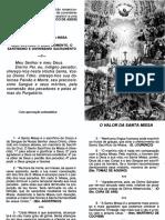 O Valor da Santa Missa.pdf