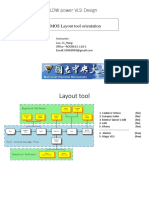CMOS Layout Tool Orientation