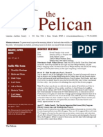 March-April 2010 Pelican Newsletter Lahontan Audubon Society