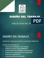 7. El Diseño Del Trabajo