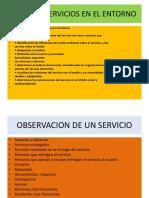 Servicios en El Entorno Pauta Evaluacion