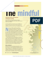 The Mindful Nurse Leader Improving Processes and.11
