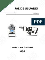 Frontofocometro Njc4 Manual