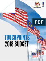 Touch Points Budget 2018
