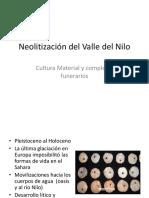 Neolitización Del Valle Del Nilo