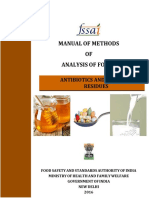Manual Antibiotics Hormones Residues 09-01-2017