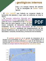 Procesos geológicos internos