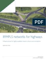 Nokia IP-MPLS Networks for Highways Application Note En