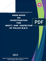 Hand Book on Investigation for ASIs