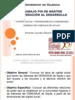 Capital Social y Etnodesarrollo de lideresas en Cusco