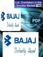 Bajaj Auto Ltd. Business strategy case study ppt