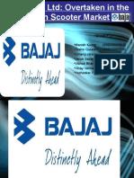 Bajaj Auto Ltd. Business strategy case study ppt