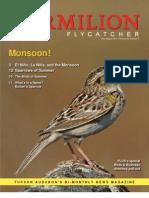 July-August 2010 Vermilion Flycatcher Tucson Audubon Society