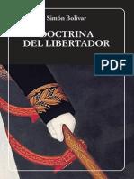 Doctrina del libertador-Simón Bolivar