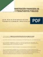 Ley de La Administración Financiera de La República