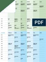 Raspored Programa