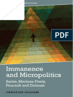 Immanence and Micropolitics
