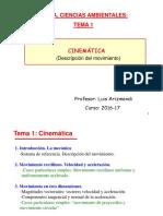Tema física MRU-MRUA, MCU y caída libre