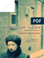 Ann Patchett Introduction to Binocular Vision by Edith Pearlman