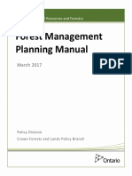 Forest Management Planning Manual