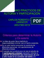 Presentación Autoría y Participación