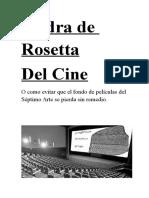 Piedra Rosetta Cine