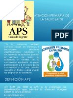 Atención Primaria de La Salud APS