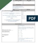 Math Lesson Plan 1