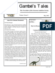 May 2002 Gambel's Tales Newsletter Sonoran Audubon Society