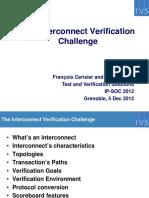 IPSOC2012 Interconnect Verification Callenge Slides