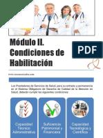 Condiciones de Habilitaciòn en salud