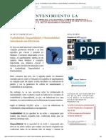 Mantenimiento LA_ Confiabilidad, Disponibilidad y Mantenibilidad, Entendiendo Sus Diferencias