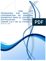 Aplicativo Web con Tecnología PHP - MYSQL