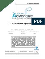 D3.2 Functional Specification v2.0