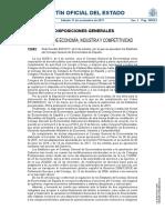 Estatutos del Colegio General de Economistas de España (BOE)