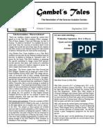 September 2003 Gambel's Tales Newsletter Sonoran Audubon Society