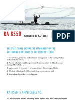RA 8550 Amended by RA 1064