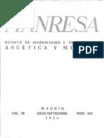La Devotio Moderna_Ricardo Villoslada_Revista Manresa