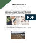 Principales Problemas Ambientales de La Provincia de Los Ríos