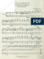 Columbia Fantasia Polka for cornet