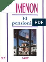 Georges Simenon-El Pensionista [15632]