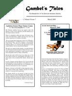 March 2005 Gambel's Tales Newsletter Sonoran Audubon Society
