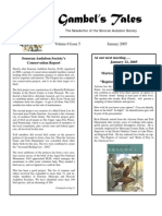 January 2005 Gambel's Tales Newsletter Sonoran Audubon Society