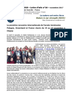 NIOS - Lettre d'info n°16 - La nature est notre force - (Erasmus+ 2015-2018)