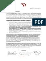 SoyVenezuela envía comunicación a Presidente de República Dominicana
